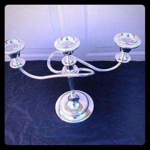 Royal Limited English Silverplate Candelabra